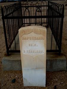 Daniel's Gravesite, Pioneer Cemetery Phoenix Arizona