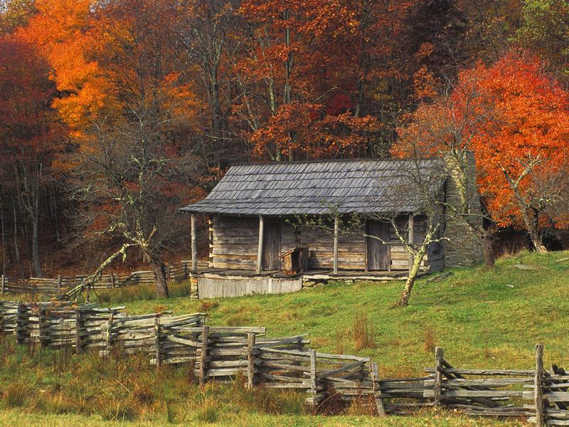 Cabin-in-Cumberland-Gap