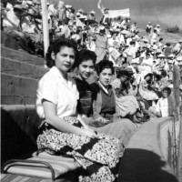 Garcia Sisters at the Bullfights, Thelma, Camille and Gracie