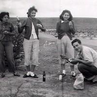 Gracie, Camille, Thelma, Tony 1952
